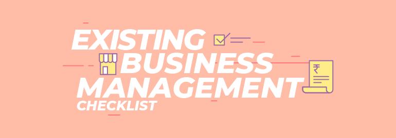 business management checklist